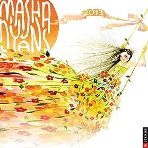Masha D'yans Watercolors 2013 Wall Calendar by Masha D'yans (2012-06-05)
