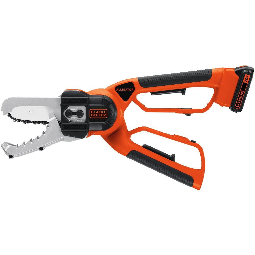 BLACK+DECKER LLP120 20-Volt Lithium-Ion Cordless Alligator Lopper