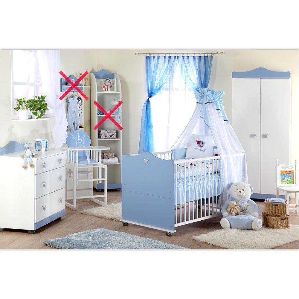 Babyzimmer Kleiner Prinz Schrank Kommode, Bett und Lattenrost ...