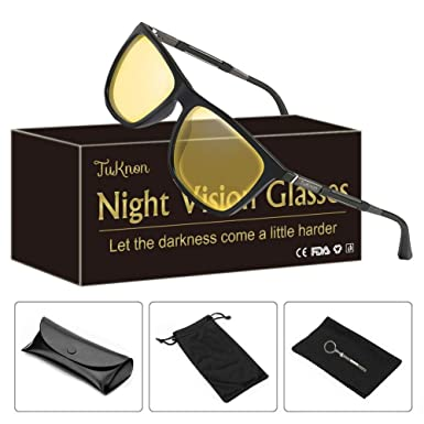 28190ae450 Night-Vision Glasses for Safe Driving Men Womens