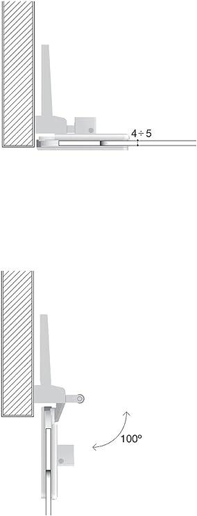 Confalonieri Charni/ère de Mont/ée Zero Chrome Satin/é Verre