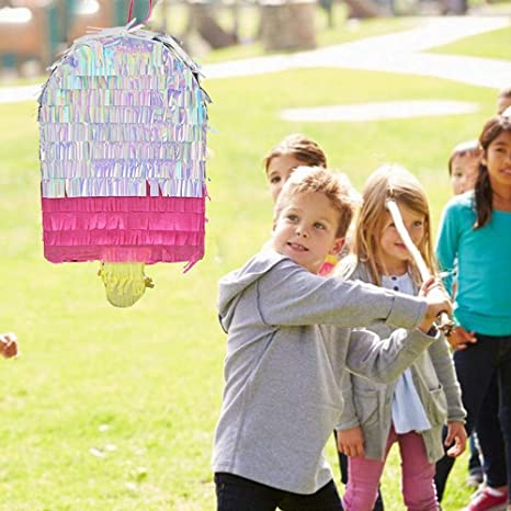 2.76inches) 7.48 ZIMAwd Ice Cream Pinata Toys for Birthday Party Supplies for Kids Pink Party Pinata(12.59