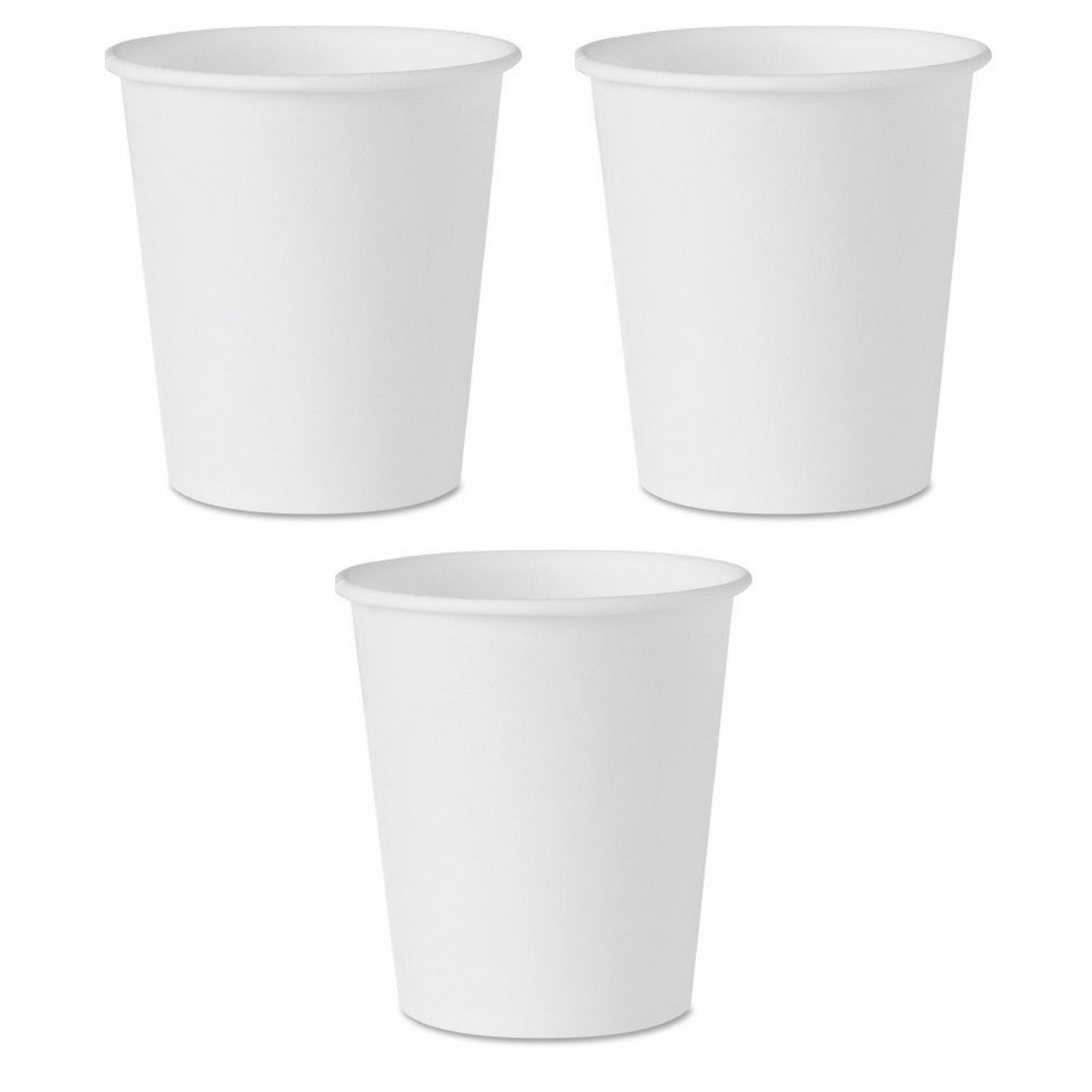 Solo Treated Paper Water Cups, White, 300/Pack