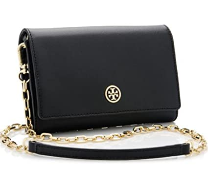 fff7419439 Tory Burch Robinson Chain Wallet Crossbody Bag: Amazon.in: Bags, Wallets &  Luggage