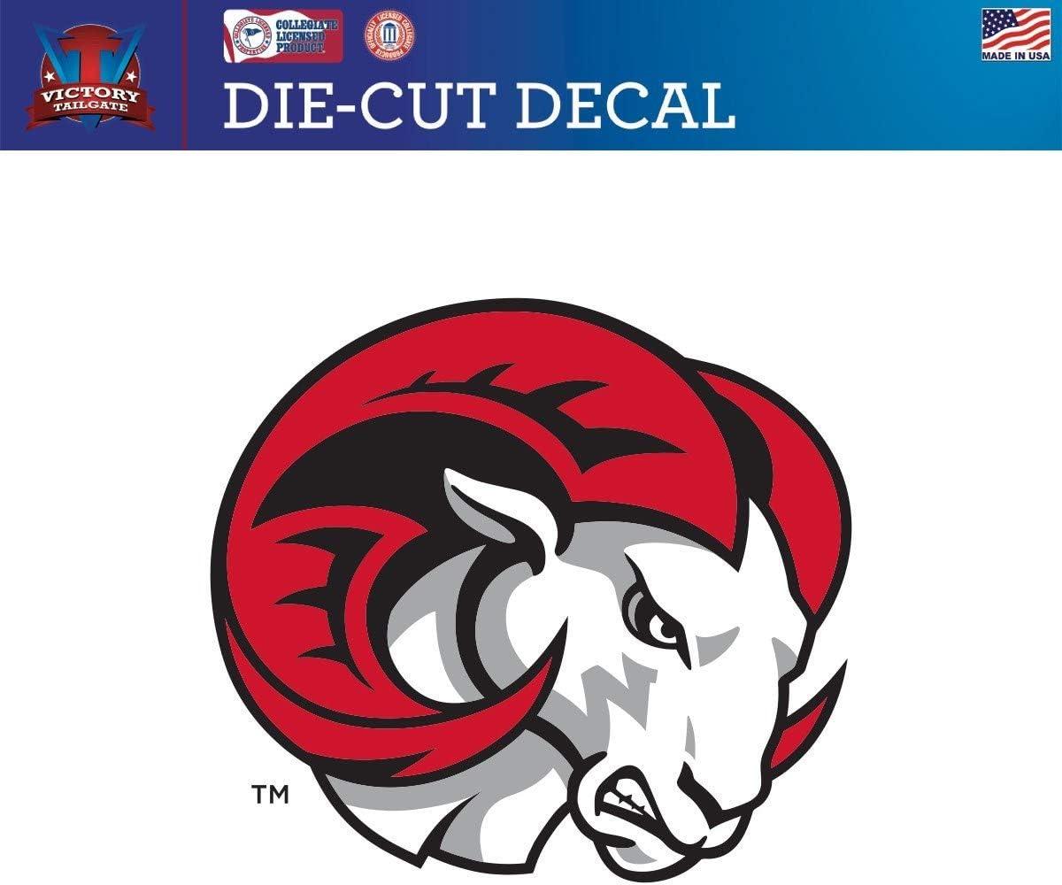 Victory Tailgate Winston Salem State University Rams Die-Cut Vinyl Decal