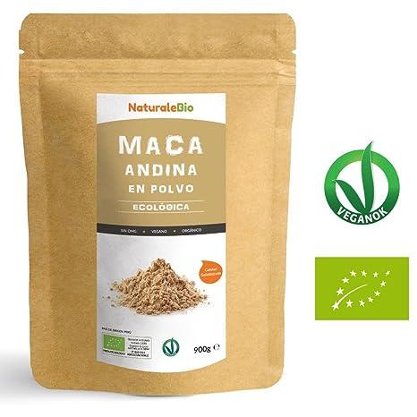 Maca Andina Ecológica en Polvo [ Gelatinizada ] 900g | Organic Maca Powder Gelatinized. 100