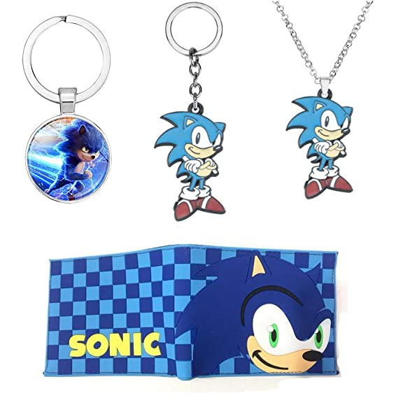 Children S Cartoon Sonic The Hedgehog Wallet Student Pvc Short Wallets Card Holder Coin Pocket Soft Plastic Purse Amazon In Clothing Accessories