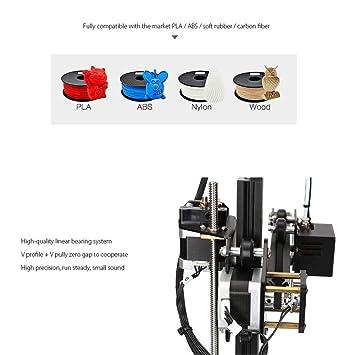 Wendry Kit de Bricolaje de Impresora 3D, Alta Velocidad de ...