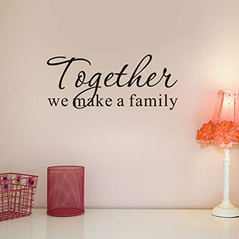 Wall Sticker Home Decors Family Quotes Bedroom Living Room House Art Decoration