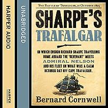 Sharpe's Trafalgar: The Battle of Trafalgar, 21 October 1805 (The Sharpe Series, Book 4) Audiobook by Bernard Cornwell Narrated by Rupert Farley