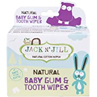 Jack N'Jill Natural Baby Gum and Tooth Wipes 25 Pieces