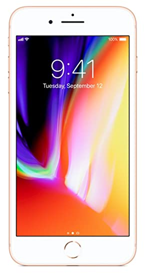 Apple I Phone 8 Plus, Gsm Unlocked, 256 Gb   Gold (Certified Refurbished) by Apple