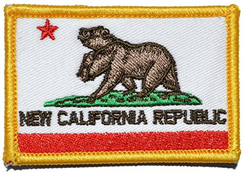 New California Republic NCR State Flag 2x3 Morale Patch - Full Color