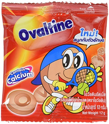Ovaltine Tablets Malt, Chocolate, 12 Gram (Pack of ()