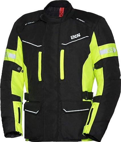 Ixs Tour Evans St Chaqueta Textil Para Moto Color Negro Neon Y Amarillo Talla L Amazon Es Coche Y Moto
