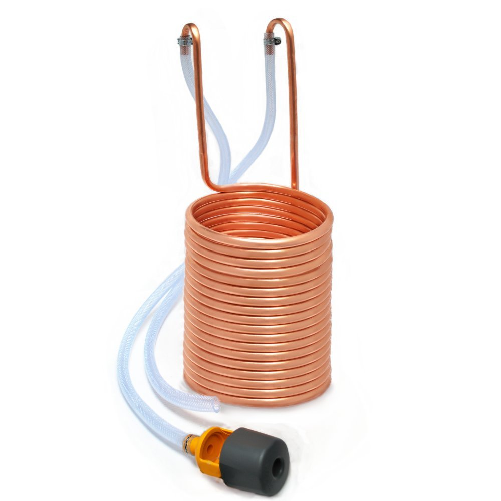 Immersion Wort Chiller / Cooler for Home Brewing - With Mixer Tap Connector Home Brew Online
