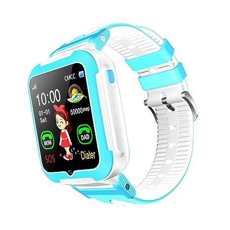 UNIC Reloj Inteligente para niños con GPS, Reloj Inteligente para niños AGPS lbs Location Reloj