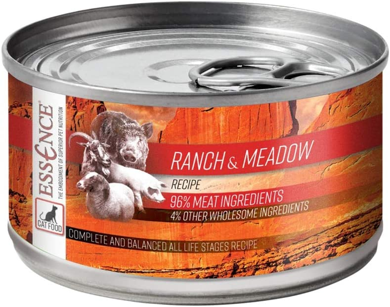Essence Ranch & Meadow Grain-Free Canned Cat Food 5.5 oz (Case of 24)