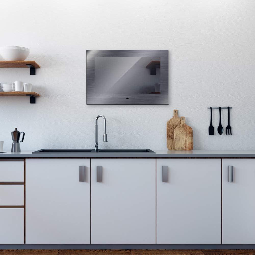 Mues-Tec KG-1850 - Televisor para cocina Fabricado en acero ...