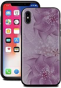 غطاء هاتف آيفون من Nuyea نحيف مقاوم للصدمات، خفيف الوزن مصنوع من جلد البولي يوريثان اللدن بالحرارة ممتص للصدمات لحماية هاتف آيفون X الجديد (وردي)