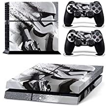Vanknight Vinyl Decal Skin Sticker Battlefront Stormtrooper for PS4 Playstaion 4 Controllers Star Wars