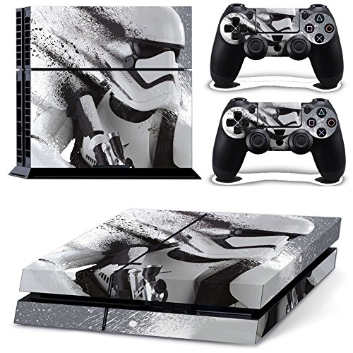 Dash Fun Playstation 4 Console Skin & Remote Controllers Skin - Stormtrooper Star Wars Soldiers (Buy A Stormtrooper Costume)