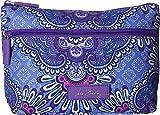 Vera Bradley Lighten up Travel Cosmetic, Lilac Tapestry