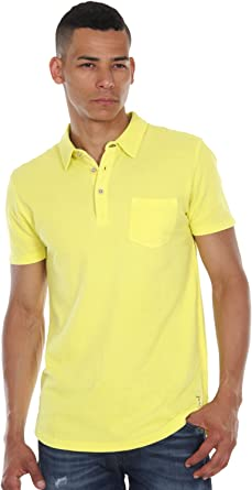 Esprit - Polo para Hombre, Color Amarillo, Talla S: Amazon.es ...