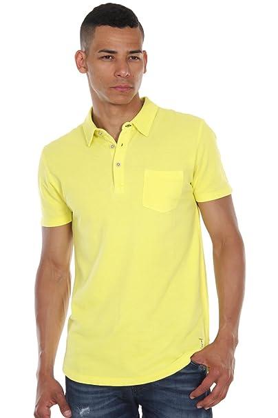 Esprit - Polo para Hombre, Color Amarillo, Talla S: Amazon.es ...