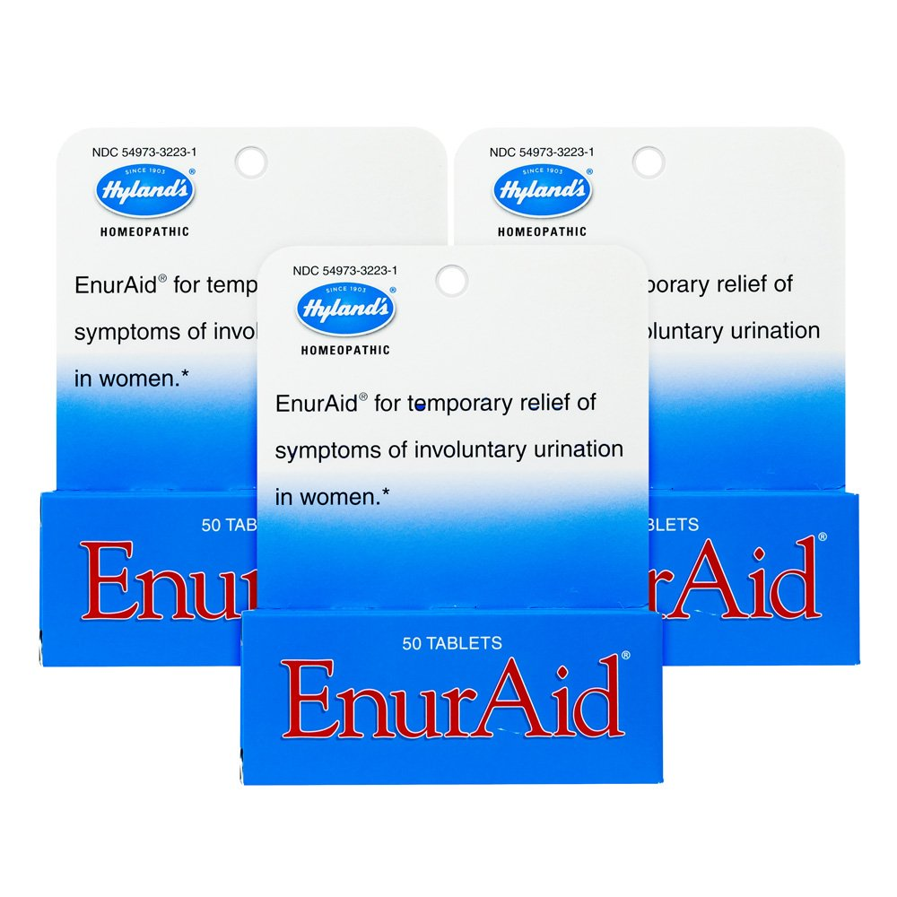 Hyland's EnurAid, Tablets, 50 Tablets (Pack of 3)