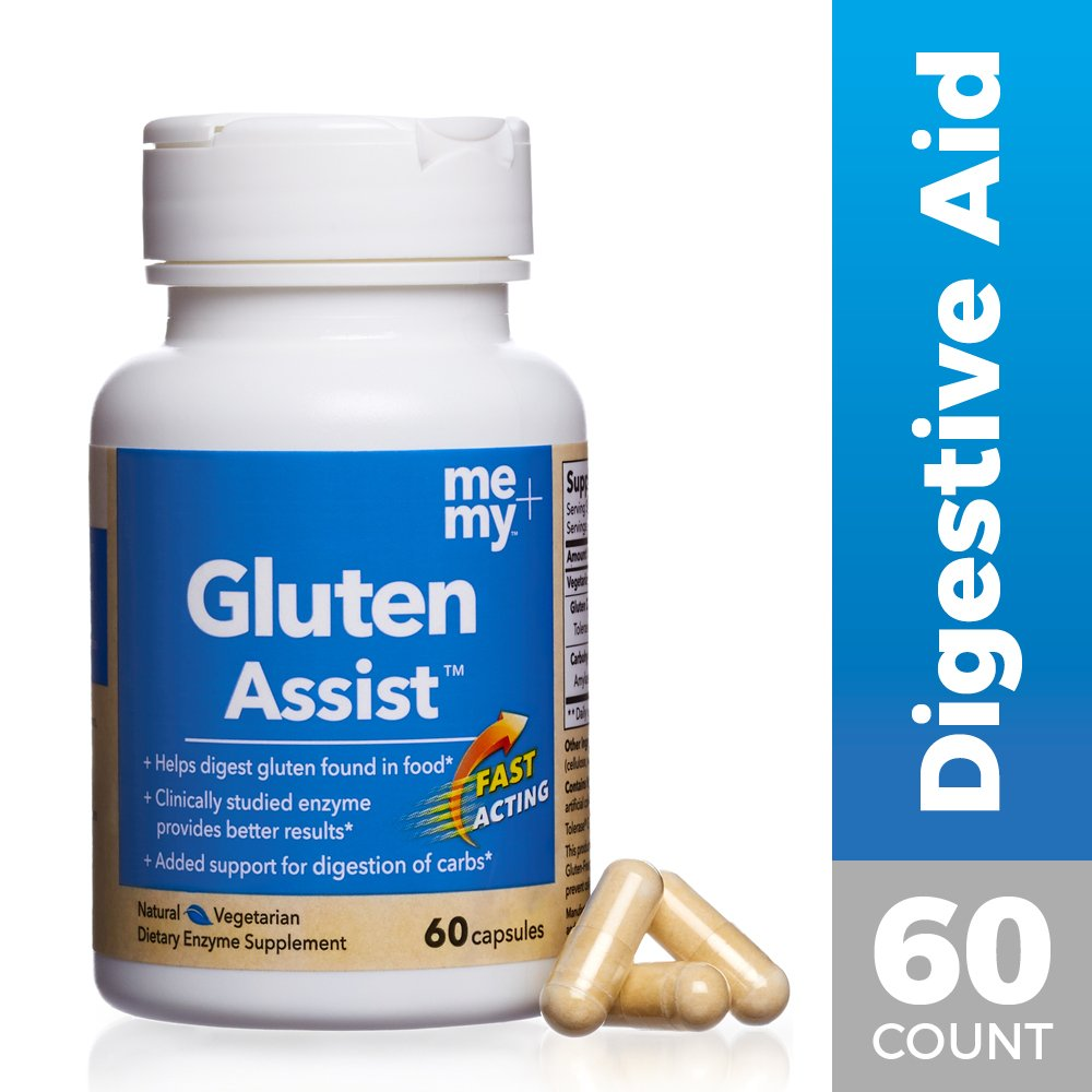 Me and My - Gluten Assist, Helping You Give Gluten the Boot, 60 Capsules