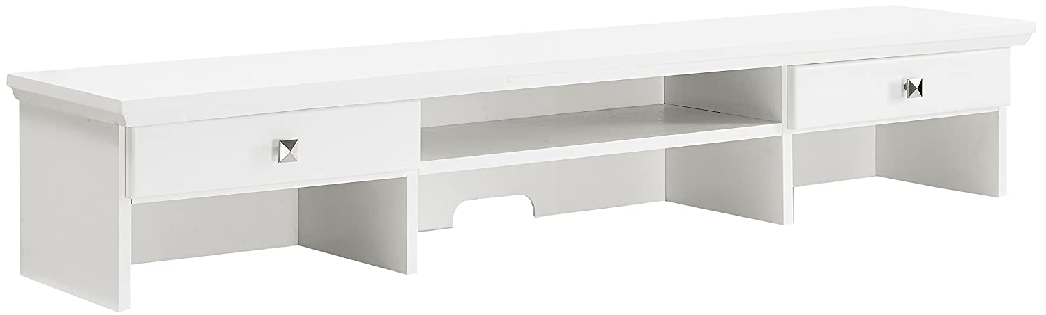 Crosley Furniture CF6508-WH Adler Computer Desk with Keyboard Tray - White