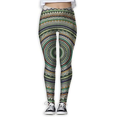 NSYGCK Mandala Yoga Pants for Women Crazy Tummy Control Yoga Leggings