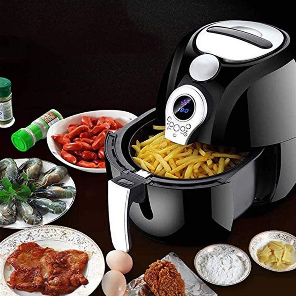 Freidora De Aire Caliente Mini horno de cocción sin aceite de 3.2 ...