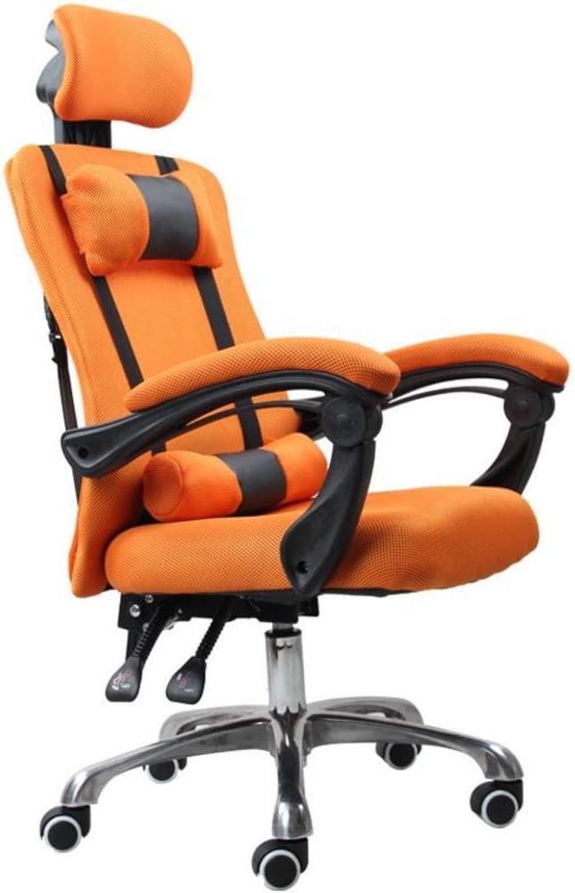 Ergonomischer Drehgelenk mit Fu/ßst/ütze Massage, blau B/üroschreibtischstuhl Rennst/ühle mit Lendenkissen YOURLITE Massage Gaming Stuhl Ergonomisch mit hoher R/ückenlehne