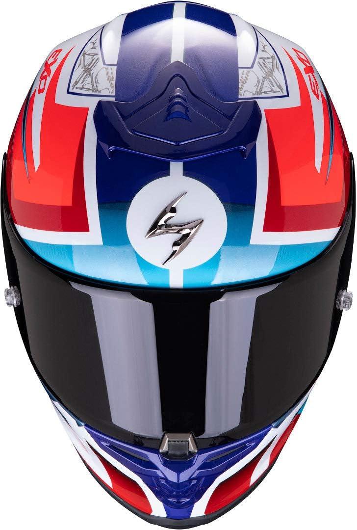 Black//Red//Yellow S Scorpion Mens NC Motorcycle Helmet