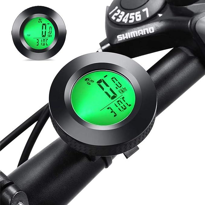 gotyou Cuentakilómetros de Bicicleta,Velocidad de Medición de ...