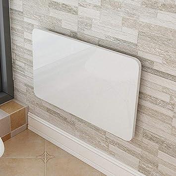 Table Pliante Murale Pliante Table A Manger Table De Bureau Informatique Space Saver Pliable Convertible Blanc Couleur Blanc Taille 70 40cm