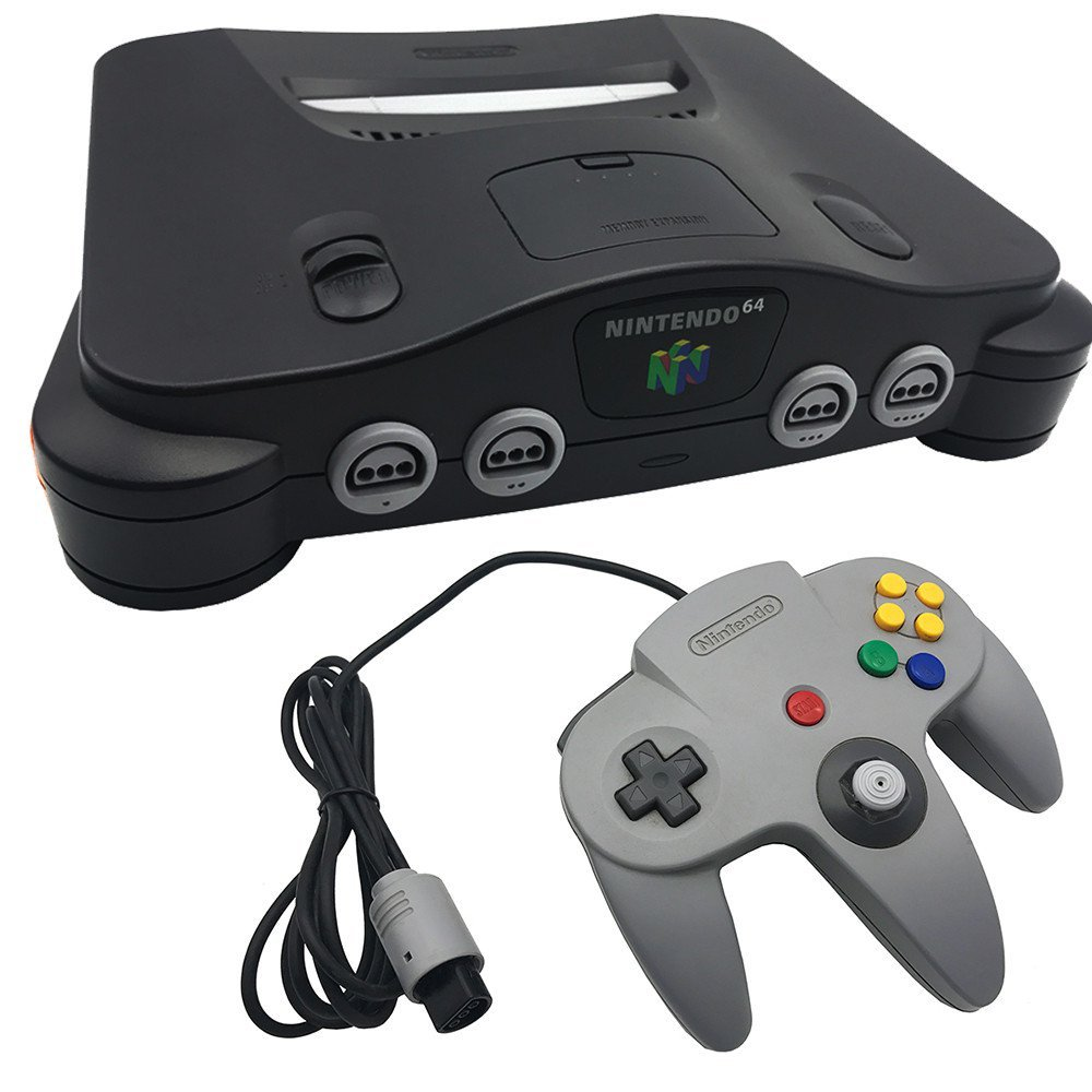 Amazon Com Nintendo 64 System Video Game Console Unknown Video Games