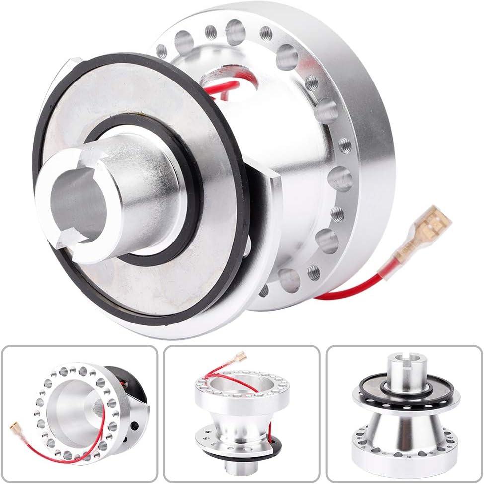 Aluminum Alloy Car Steering Wheel Hub Quick Release Adapter Kit for Honda Rsx//TL//EK//CR-V//Civic//S2000 Steering Wheel Hub Adapter