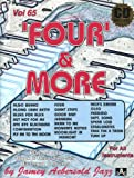 Vol. 65, Four & More: Play Along With B3 Organ (Book & CD Set)