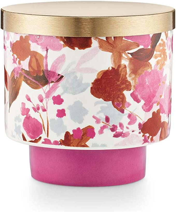 Illume Go Be Lovely Collection Thai Lily Lidded Ceramic 11 1oz Candle Home Kitchen