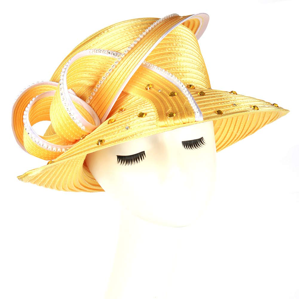 June's Young Women Hat Lady Kentucky Derby Dress Church Special Occasion, Ceremony,Wedding, Party Hat