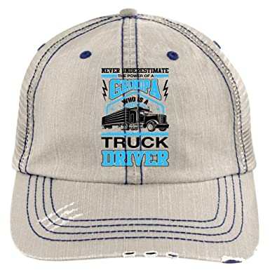 d0761026 ELPSTORE Cool Truck Driver Hat, Who is A Truck Driver Trucker Cap (Trucker  Cap - Putty) at Amazon Men's Clothing store:
