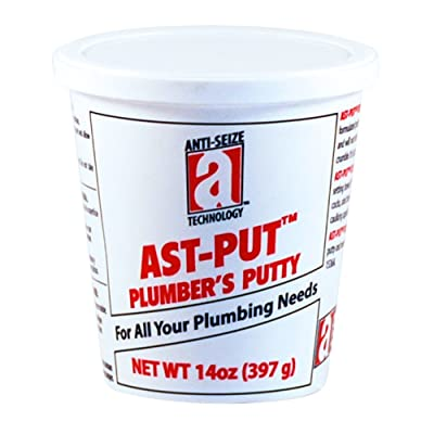 AST-PUT[TM] Plumbers Putty, 14 oz, Tan: Home Improvement