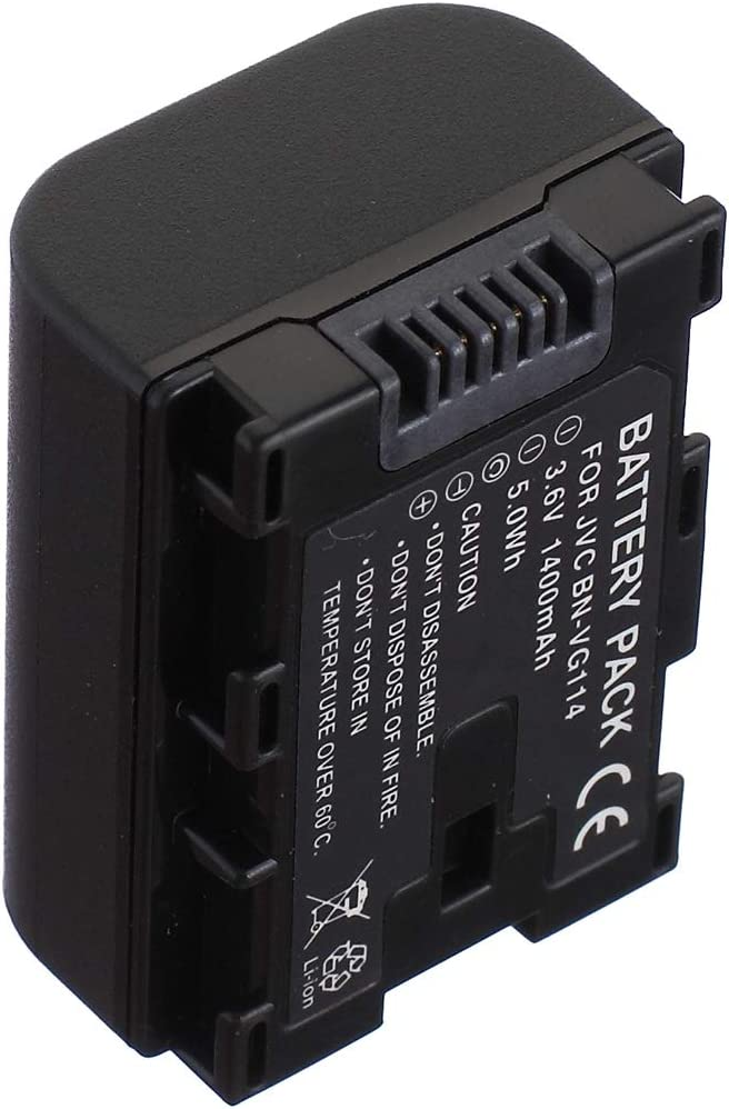 GZ-HM300SEU HD Everio Flash Memory Camcorder Battery Pack for JVC Everio GZ-HM300SE GZ-HM300SEK
