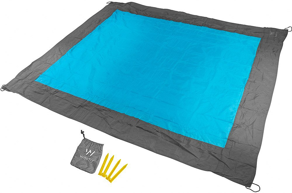 Sand Repellant Lightweight Compact Beach Blanket / Large
