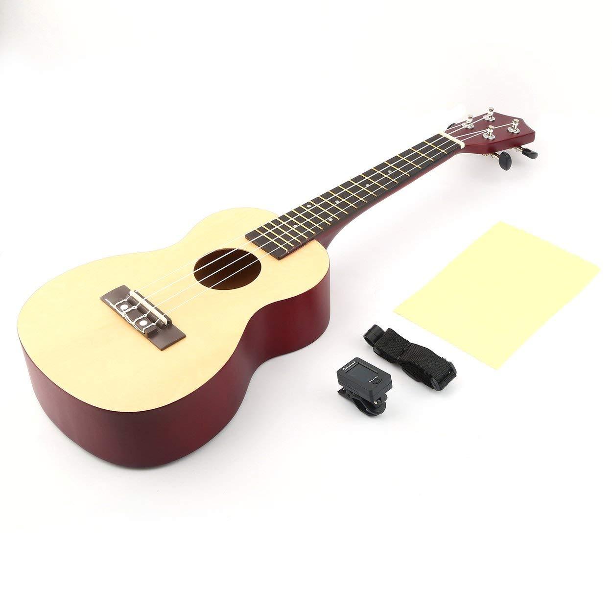 Profesional Mini 23 pulgadas kit de ukulele conjunto de ...