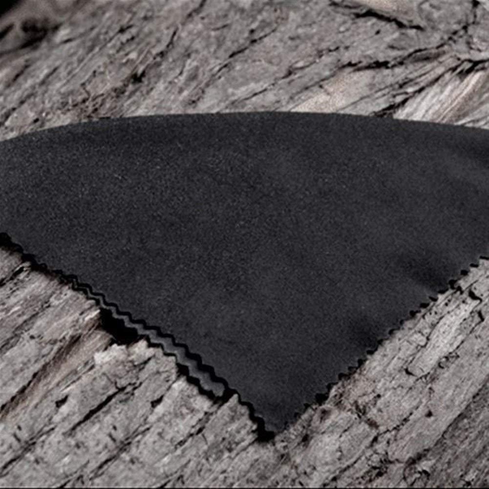 Schwarze Reinigungst/ücher Touchscreen Laptop YUELANG 3X Mikrofaser-Reinigungstuch 20x19cm Brille Objektiv, Color : Black Smartphone-Display
