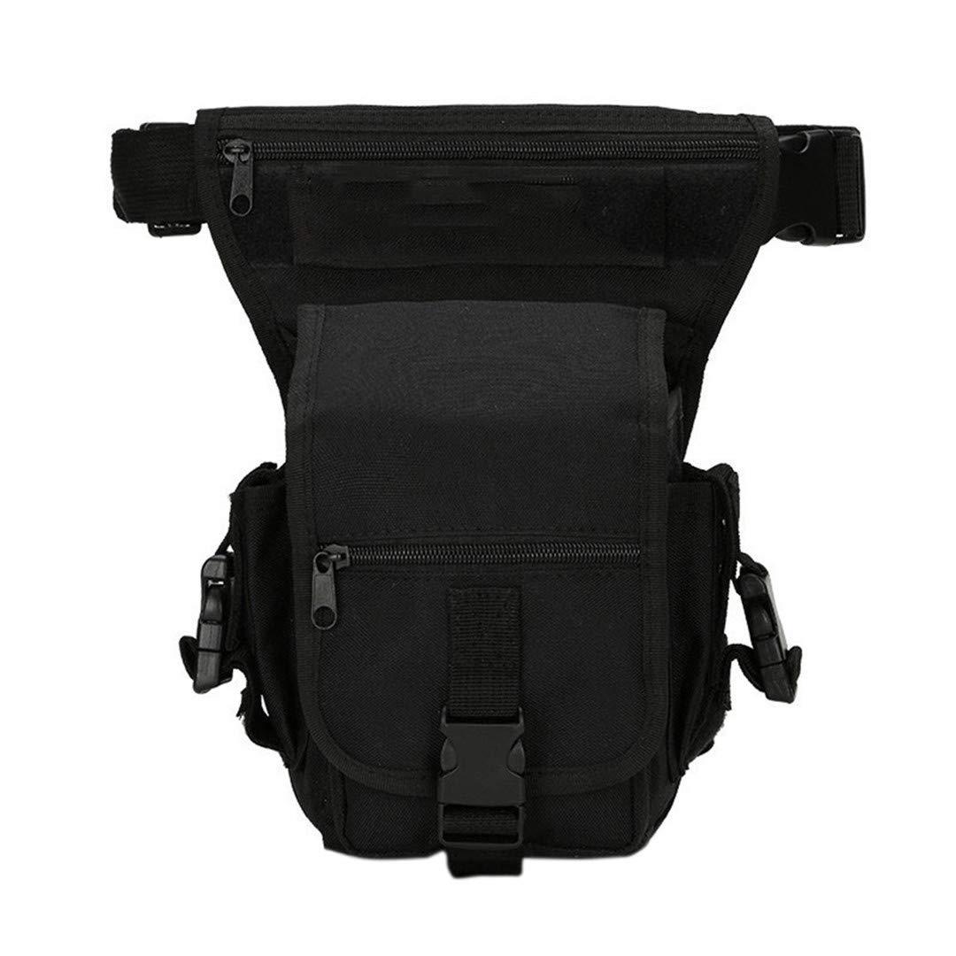 ファッションパーソナリティポータブルメンズウエストバッグ ベルト付き 迷彩柄 防水ナイロンツールパック タクティクス ゲーム メンズ レッグバッグ AB@W レディースバッグ  1 B07GX7NC55